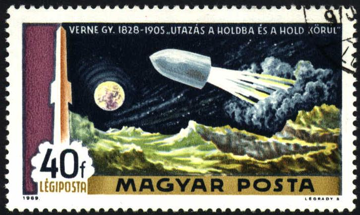 Image of Hungary airmail stamp, C287