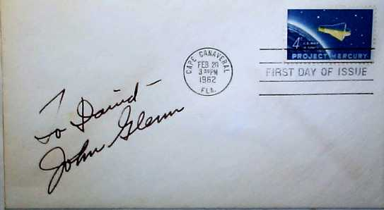 Image or picture of Project Mercury stamp First Day Cover.