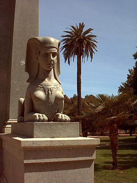Image or picture of the Stanford's memorial, Silicon Valley.