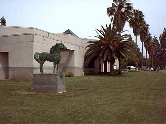 Image or picture of horse near Triton Museum, Silicon Valley.