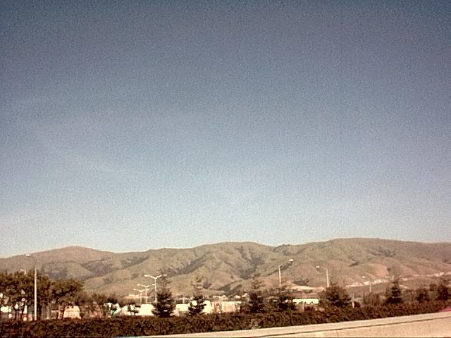 Image or picture of hills in Silicon Valley