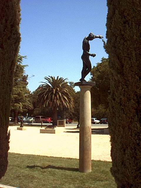 Image or picture of sculpture at Stanford in Silicon Valley